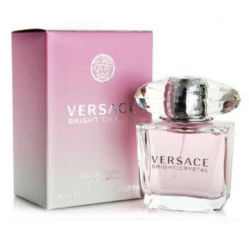 Versace范思哲钻粉钻香恋水晶女士香水持久留香清新30ml