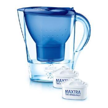 青海特惠 碧然德BRITA 德国原装进口家用滤水壶净水壶 Marella3.5L一壶双芯