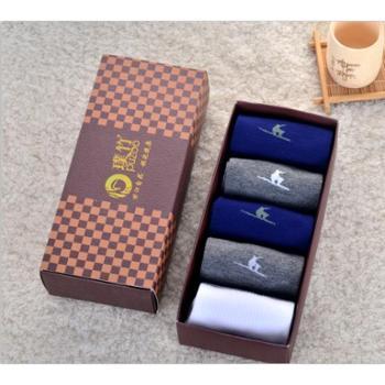 青海特惠 璞竹竹纤维男袜5双装 预售12月10日发货