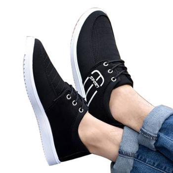新款韩版男士潮流低帮布鞋