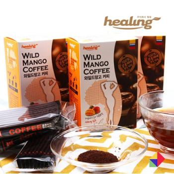 Healing美体咖啡G0.8g*30条韩国商城食品酒饮冲调饮品速溶咖啡