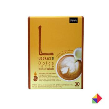 南阳Lookas9多丝炼乳咖啡G30条韩国商城食品酒饮冲调饮品速溶咖啡