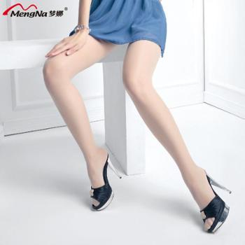【6双装】梦娜正品防晒亮肤显瘦包芯丝连裤袜单加裆性感丝袜