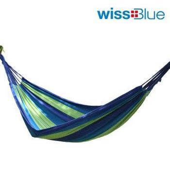 维仕蓝户外休闲加宽加厚吊床WA8053