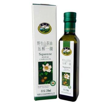 新品安太茶油有机山茶油250ml瓶装