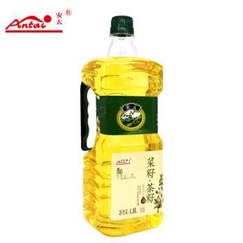 安太菜籽.茶籽食用油调和油1.8L家庭装
