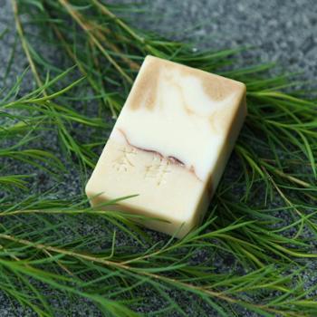 UNESHINE 原水味 原萃茶树手工皂 精油皂 洁面皂【60g】