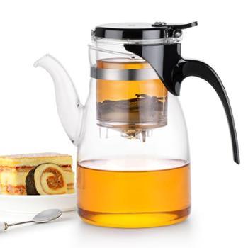 尚明飘逸杯大容量沏茶壶茶水分离冲泡茶器过滤玻璃茶叶花茶壶