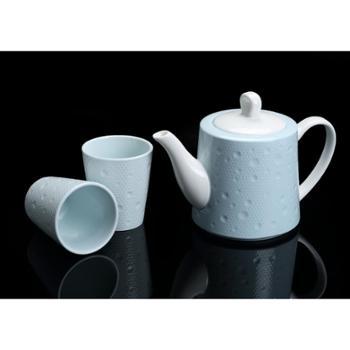 【628搜实惠(6.20-7.9)】菲米生活(PHMI)创意家居沃斯琪陶瓷水壶套装组合