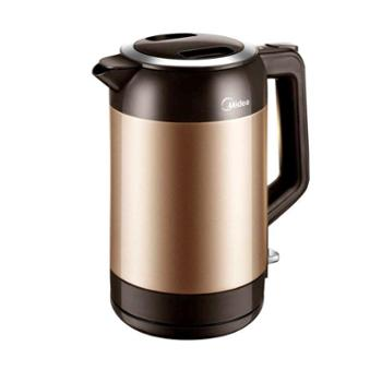 Midea/美的 电热水壶保温防烫烧304不锈钢1.9l升 MK-VJ1901A