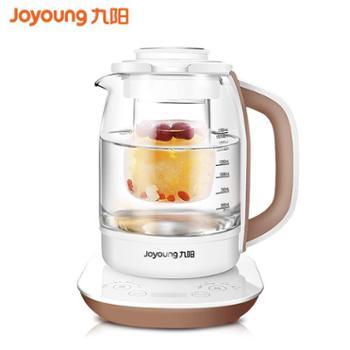 九阳养生壶全自动加厚玻璃多功能燕窝壶电煮花茶器烧水壶 K17-D68
