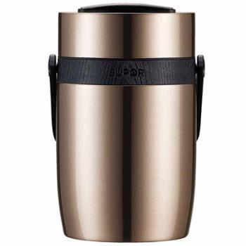 苏泊尔 魔法保温提锅3层保温饭盒 保温桶304不锈钢真空便当盒