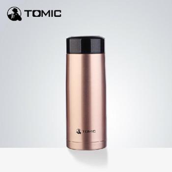 英国特美刻 双层不锈钢超大容量保温杯男女士健康茶杯