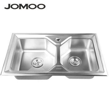 JOMOO 九牧 不锈钢水槽 厨房双槽 洗菜盆 06071