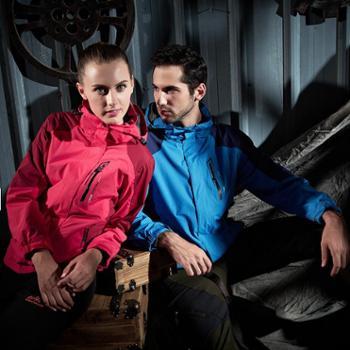 雷宾迪冬季新款情侣户外运动冲锋衣三合一两件套防水加厚情侣野营登山服S1617
