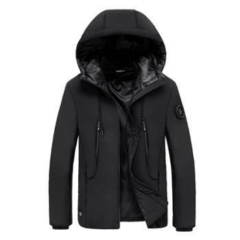 LEIBINDI/雷宾迪新款男士智能发热棉衣商务休闲户外功能棉服FR9941