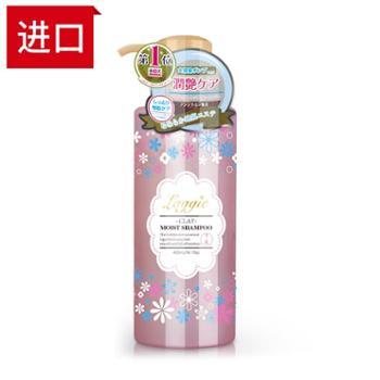 日本进口laggie洗发水滋润保湿适合干枯受损发质400ml