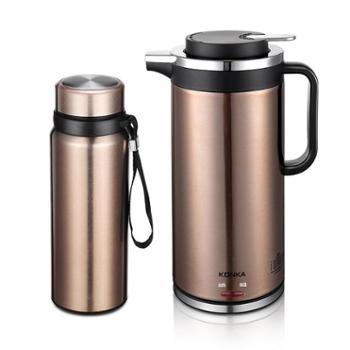 康佳新品水光山色水壶组合二件套KGBL-213电水壶保温杯烧水电热壶