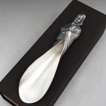 福恒金 纯银茶铲 茶具 纯银高端工艺礼品