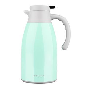 德鲁曼保温壶1.7L304不锈钢真空保温瓶 大容量家用热水壶暖瓶【2色可选】