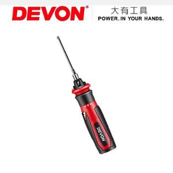 DEVON大有家用电动螺丝刀充电式锂电池起子微型迷你电批套装5612