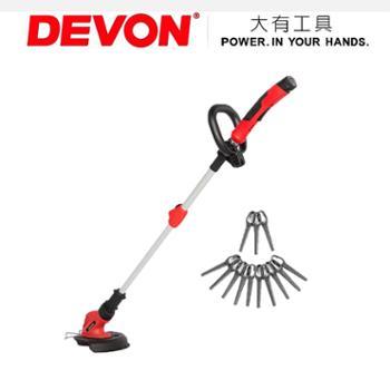 *大有4311电动割草机12V锂电充电式打草机家用草坪机园艺工具