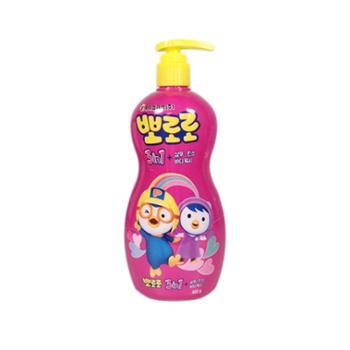 韩国啵乐乐小企鹅儿童洗发沐浴护发三合一单瓶装 新款