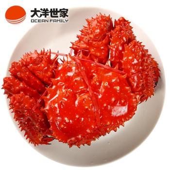 大洋世家/OCEANFAMILY智利帝王蟹熟冻2.8-3.2斤/只
