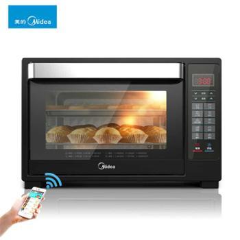美的电烤箱家用多功能全自动智能烘焙Midea/美的 T7-L325D