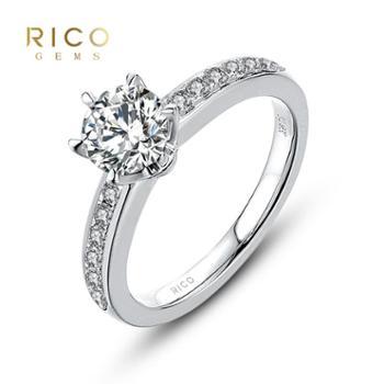 睿珂珠宝INFINITIES 88 依然 钻石戒指钻戒需定制 拍前详询客服 1克拉K色SI1 18K金定制