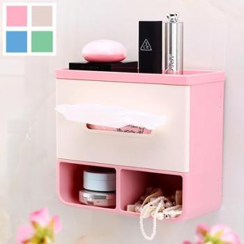 卫生间纸巾盒厕纸盒卫生纸盒厕所纸巾架洗手间手纸盒抽纸盒免打孔