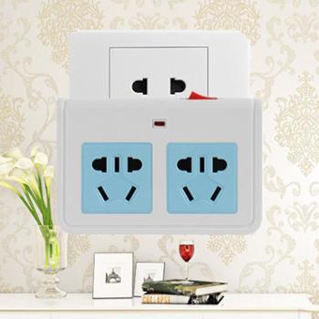 购旺(Gowone)一转二带总控开关2位电源转换器/转换插座/拓展电源Z02