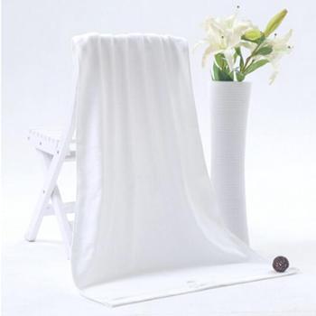 洁丽雅(grace)浴巾 8709A纯棉强吸水特柔舒适浴巾390g/条 米白色140*70cm