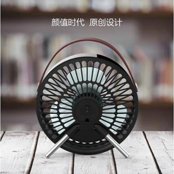 斗禾USB风扇迷你电小风扇静音办公室桌面学生宿舍家用便携大风