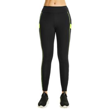 力为 跑步紧身裤女夏季薄款速干健身运动长裤紧身裤L59017