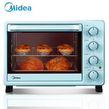 美的电烤箱家用上下管独立控温多功能全自动25L大容量