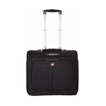 SWIMADE瑞制RZ-7016商务出差拉杆包16寸男女通用时尚旅行包防泼水大容量黑色
