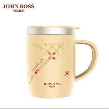 JOHN BOSS 巴宝瑞马克杯 不锈钢内胆咖啡牛奶泡茶水杯 HV-B50