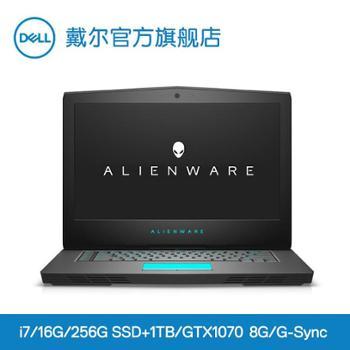 外星人AlienwareR5ALW1717.3英寸2KG-Sync屏眼动技术八代标压独显双阴公安游戏笔记本电脑3749PS