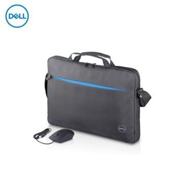 戴尔DELL460-BBYY单肩包1315.6英寸手提包笔记本电脑包有线鼠标套装笔记本便携包