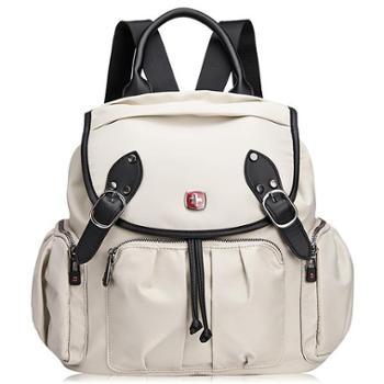 瑞士军刀SWISSGEAR新款时尚女士双肩背包商务休闲包SA7777