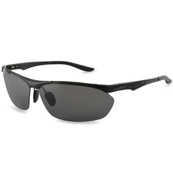 TILU天禄眼镜镁铝合金质感运动偏光镜男士开车骑行潮人个性太阳镜R00335