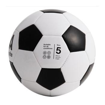 安格耐特(Agnite)F1203 5号标准训练足球 PVC机缝 经典黑白