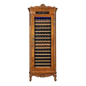 欧帝诺红酒柜节能环保电子制冷触摸屏葡萄酒酒柜(恒温恒湿家用型) BJW-308