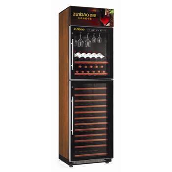 欧帝诺红酒柜节能环保电子制冷触摸屏葡萄酒酒柜(恒温恒湿家用型)BJQ-368