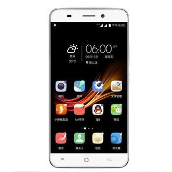 小辣椒红辣椒NXPlus移动联通4G指纹解锁任性版PLUS手机白色