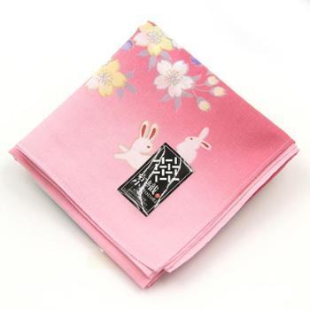 京織全棉日系方巾丝巾手帕礼盒装日本制
