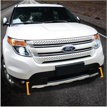 适用于13-16福特探险者改装专用前后护板不锈钢前后杠车底防护板