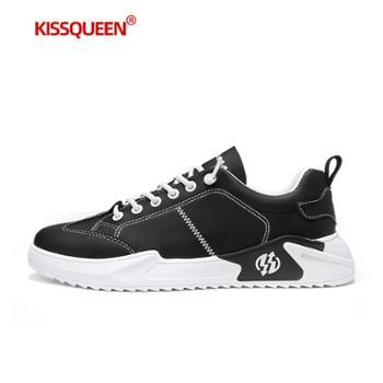 自由绽放KISSQUEEN男休闲运动鞋韩版潮鞋板鞋K01
