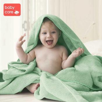 babycare婴儿浴巾纯棉初生宝宝洗澡纱布吸水